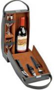 Набор аксессуаров для вина в футляре для бутылки