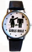 """Часы """"Girls rule """""""