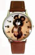 """Часы """"Олимпийский мишка"""""""