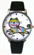 """Часы """"Веселая кошка"""""""