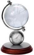 Часы с глобусом