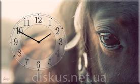 Часы настенные Кони ― Подарки. Интернет-магазин оригинальных подарков. Необычные подарки - Лавка Радости