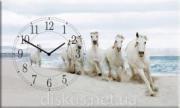 Часы настенные Кони