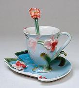 """Чайная пара """"Орхидея"""""""