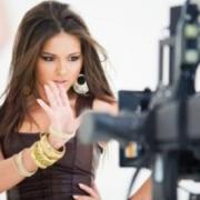 Звезда шоу-бизнеса (съемка видеоклипа)