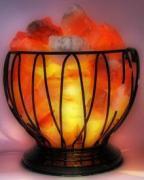 """Соляная лампа """"Чаша огня"""" (проволочная чаша)"""