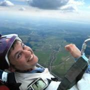 Паратрайк - полет над землей