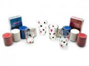Покерный набор с рюмками