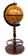 Глобус бар с держателем бутылок