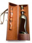Футляр для бутылки с набором сомелье