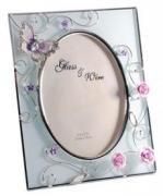 """Фоторамка """"Бабочка на чайной розе"""" (Франция)"""