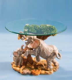 """Журнальный стол """"Мудрость слонов"""" ― Подарки. Интернет-магазин оригинальных подарков. Необычные подарки - Лавка Радости"""