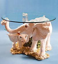 """Журнальный стол """"Белые Слоны"""" ― Подарки. Интернет-магазин оригинальных подарков. Необычные подарки - Лавка Радости"""