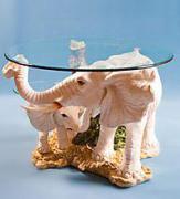 """Журнальный стол """"Белые Слоны"""""""