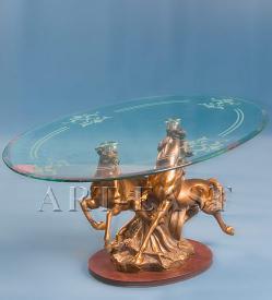"""Журнальный стол """"Лошадки"""" ― Подарки. Интернет-магазин оригинальных подарков. Необычные подарки - Лавка Радости"""