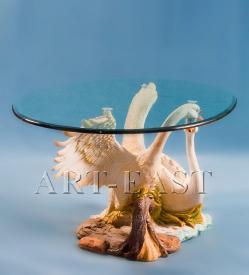 """Журнальный стол """"Лебеди"""" ― Подарки. Интернет-магазин оригинальных подарков. Необычные подарки - Лавка Радости"""
