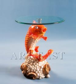 """Журнальный стол """"Золотая Рыбка"""" ― Подарки. Интернет-магазин оригинальных подарков. Необычные подарки - Лавка Радости"""