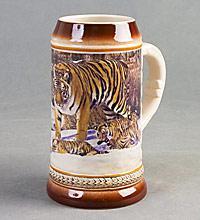 """Кружка пивная """"Тигр""""  ― Подарки. Интернет-магазин оригинальных подарков. Необычные подарки - Лавка Радости"""