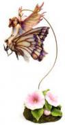 """Статуэтка """"Фея - малютка на волшебной стрекозе"""""""