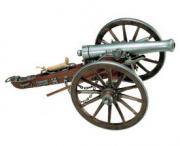 Пушка артиллерийская. Гражданская война 1861 год, США