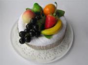 """""""Торт тропические фрукты"""" Полотенце-пирожное (полотенце-тортик)"""