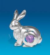 """Фигурка """"Кролик""""с цветным кристаллом"""