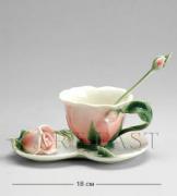 """FM- 01/ 3 Чайная пара """"Роза"""""""