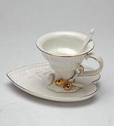 """Чайная пара """"Морская ракушка"""" (Pavone)"""