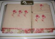 Набор полотенец 3 пр. Adeso(pink)
