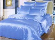 Шелковое постельное белье BLUE