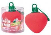 Вибрирующая мочалка Bath Sponge Massager Strawberry