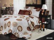 Шелковое постельное белье с принтом COSTIERA