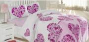 Ранфорс Печатный Candy(pink)