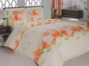 Постельное белье Flora(turuncu)