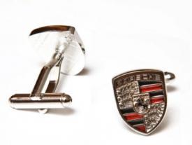 """Запонки """"Porsche"""" ― Подарки. Интернет-магазин оригинальных подарков. Необычные подарки - Лавка Радости"""