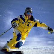 Виражи на горных лыжах