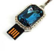 Флеш-накопитель «Синий бриллиант»