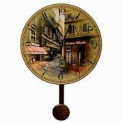 """Настенные часы """"Улицы Парижа"""""""