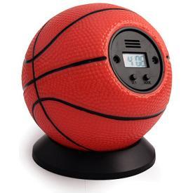 """Будильник """"Сыграем в баскетбол"""" ― Подарки. Интернет-магазин оригинальных подарков. Необычные подарки - Лавка Радости"""