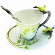 """Чайная чашечка """"Птички"""""""