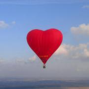 Воздушное сердце любви