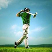 Урок гольфа