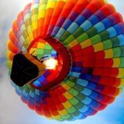 Воздушный шар над Киевом