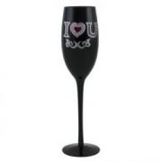 "Бокал для шампанского "" l love you"""