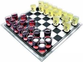 Шахматы-рюмашки ― Подарки. Интернет-магазин оригинальных подарков. Необычные подарки - Лавка Радости