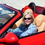 Леди за рулем ( урок вождения )