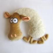 """Подушка-подголовник """"Овца Кудесница"""""""