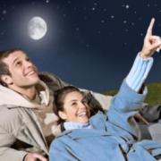 Романтический пикник под луной