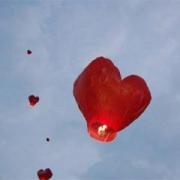 Сердце (красное, белое)