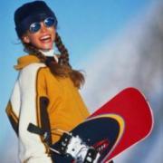 Урок юного сноубордиста